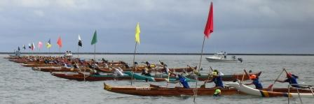 Outrigger Race lineup