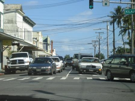 Hilo Hawaii Traffic