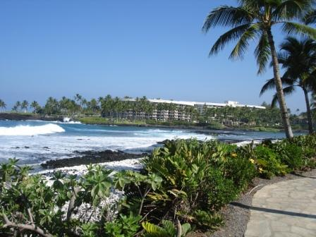 Hilton beach Hawaii