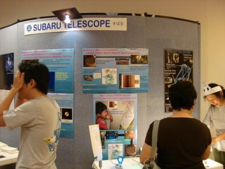 Subaru telescope room