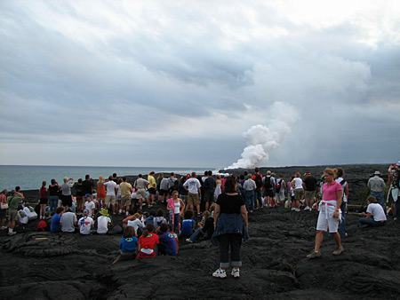USGS Lava Viewing Hawaii