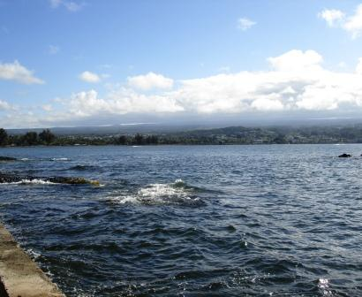View of Hilo from Coconut Island