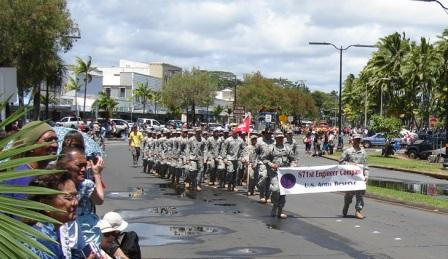 US Army reserve Merrie Monarch Parade Hilo 2008