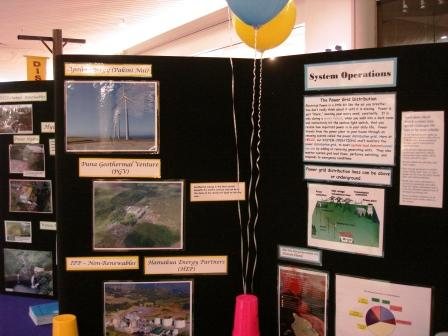HELCO Energy fair display