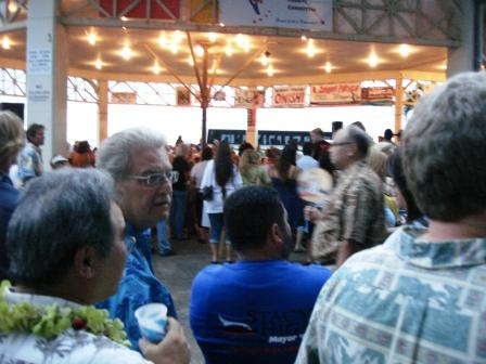 Hilo Political Rally