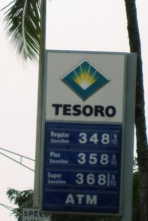 Hilo gas prices