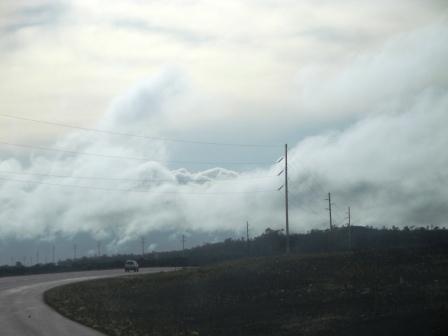 Clouds over Hilo